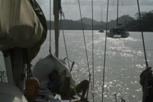 For motor over Gatunsjøen